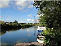TG2407 : Tranquil River scene by Adrian S Pye