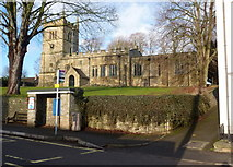 SK4968 : St Leonard's Church from the Main Street by Andrew Hill