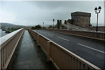 SH7877 : Conwy Road Bridge by Phil Champion