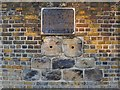 TQ2574 : Relics of the Surrey Iron Railway, built into the wall of the Ram Brewery, Wandsworth by Stefan Czapski