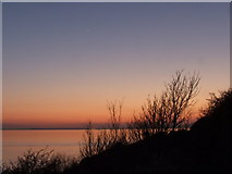 ST3870 : Sunset over Bristol Channel by Ian Knox