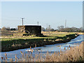 TF5701 : Pillbox near Creek Farm, one mile east of Nordelph by Adrian S Pye