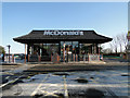 TF8409 : McDonald's near the BP filling station on the A47 by Adrian S Pye