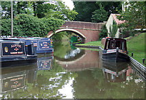 SO9262 : Worcester and Birmingham Canal  at Hanbury Junction by Roger  Kidd