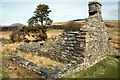SH7038 : Ruined farmhouse at Tomen-y-mur by Jeff Buck