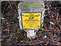 TM3671 : Gas Pipeline marker by Adrian Cable