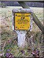 TM3764 : Gas Pipeline on Rendham Road by Adrian Cable