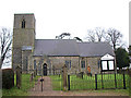 TL9996 : The church of All Saints, Rockland All Saints by Evelyn Simak
