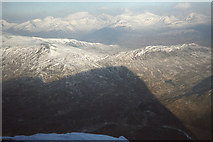 NN2256 : A mountain's shadow by Jim Barton
