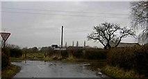 SK8336 : Road junction Stenwith by Steve  Fareham
