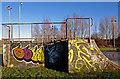 NS4365 : Skateboarding Ramps, Linwood by wfmillar