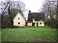 TM1589 : Thatched cottage on Sneath Common by Evelyn Simak