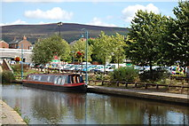 SJ9698 : Stalybridge : Huddersfield Narrow Canal by Ken Bagnall