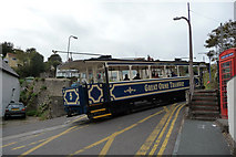 SH7782 : Great Orme Tramway - car number 5 joining Ty-Gwyn Road by Phil Champion