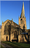 SK3871 : St Mary and All Saints: the Crooked Spire by Andy Stephenson