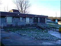 NS3373 : Former Boglestone Library by Thomas Nugent