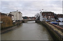 TF3244 : The River Witham by Ashley Dace