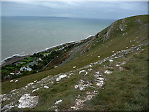 SH7683 : South western slopes of the Great Orme by Phil Champion