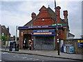 TQ2572 : Wimbledon Park Tube station by David Howard