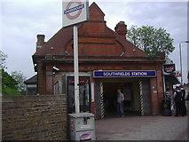 TQ2473 : Southfields station by David Howard