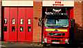 J4187 : Fire appliance, Carrickfergus (2) by Albert Bridge