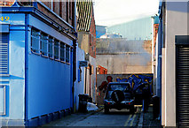 J3573 : McMullan's Lane, Belfast (1) by Albert Bridge