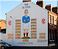 J3573 : Rangers mural, Belfast by Albert Bridge
