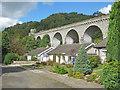 SO2474 : Knucklas Viaduct - 2 by Trevor Rickard