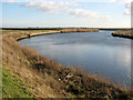 TG4809 : The River Bure below Mautby by Evelyn Simak