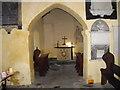 SS9774 : Interior of St Brynach's Church, Llanfrynach by John Lord
