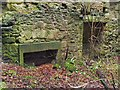 NS3578 : Kilmahew Castle - fireplace by Lairich Rig