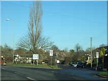 SX9896 : Junction in Broadclyst by David Smith