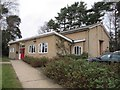 SU9457 : Brookwood Village hall by Bill Nicholls