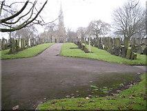 SJ7993 : Stretford Cemetery by Chris Wimbush