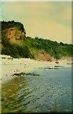 SX9265 : Oddicombe Beach Torquay in 1987 by peter robinson