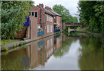 SO9466 : Worcester and Birmingham Canal at Stoke Works by Roger  Kidd
