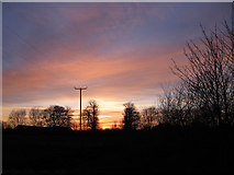 SE7381 : Last rays over Normanby by Pauline E
