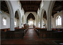 TL4538 : Holy Trinity, Chrishall, Essex - East end by John Salmon