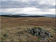 NO0407 : View from Coalcraigy Hill by William Starkey