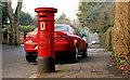 J3271 : Pillar box, Belfast by Albert Bridge