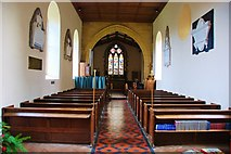 ST5707 : Melbury Osmond: St. Osmond's Church by Eugene Birchall