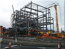 SE0925 : New development, Halifax in town centre by michael ely
