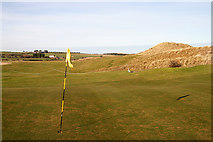 NU2422 : Dunstanburgh Castle Golf Course by Walter Baxter