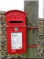 TG0536 : GR postbox of the lampbox type by Adrian S Pye