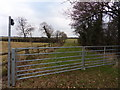 SJ6159 : Grey gates by J Scott