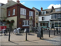 SY6878 : Weymouth - Old Pump by Chris Talbot