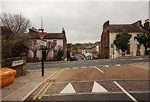 TQ3370 : Highland Road into Gipsy Hill by John Salmon