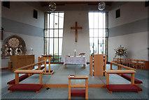 TQ3370 : Christ Church, Gipsy Hill - Chancel by John Salmon