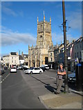 SP0202 : Market Place Cirencester by Rod Allday
