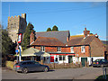 TQ8742 : The Flying Horse, Smarden by Oast House Archive